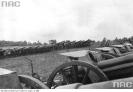 Armaty polskie stojące na polu