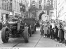 Wojska niemieckie na Długim Targu w Gdańsku