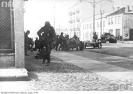 Wojska niemieckie na przedmieściach Warszawy