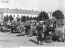 Zdobyte przez Niemców armaty polskie