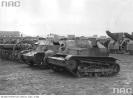 Punkt zbiorczy polskiego sprzętu wojskowego zdobytego przez Niemców